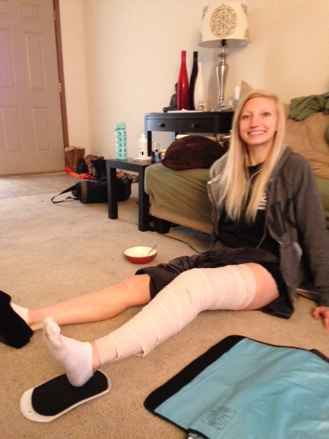 ACL Post-Surgery: Days 2-3