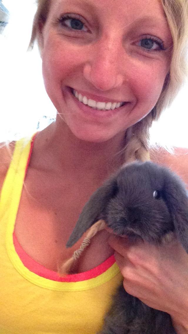 Stumps, my little lop-eared bunny