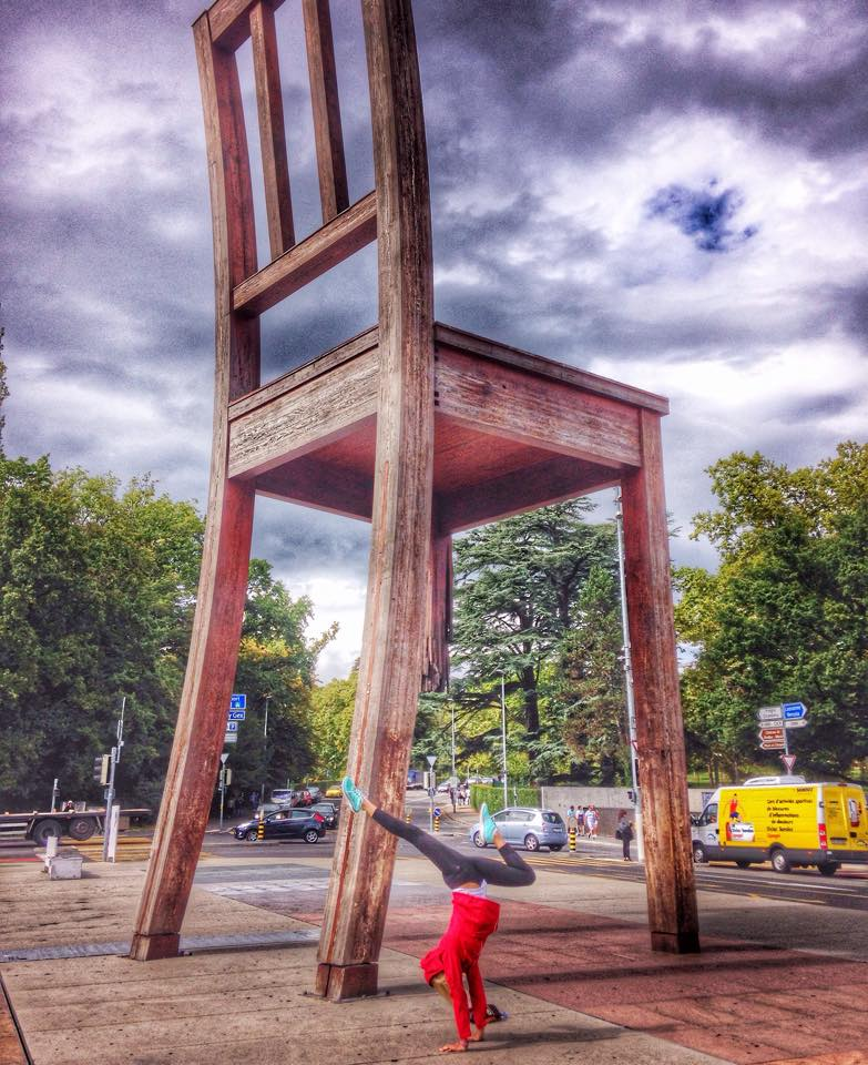 broken chair geneva