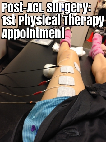 ACL Surgery Day 6 + Day 7 First Physical Therapy Appointment