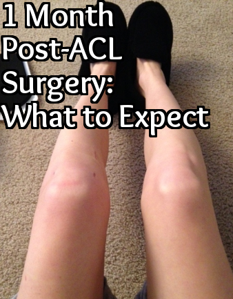 ACL Post-Surgery Week 4