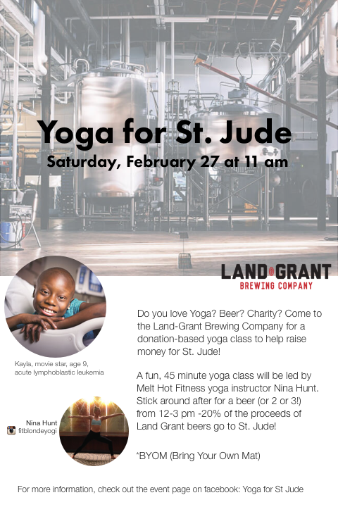 Yoga For St Jude Nina Elise Yoga