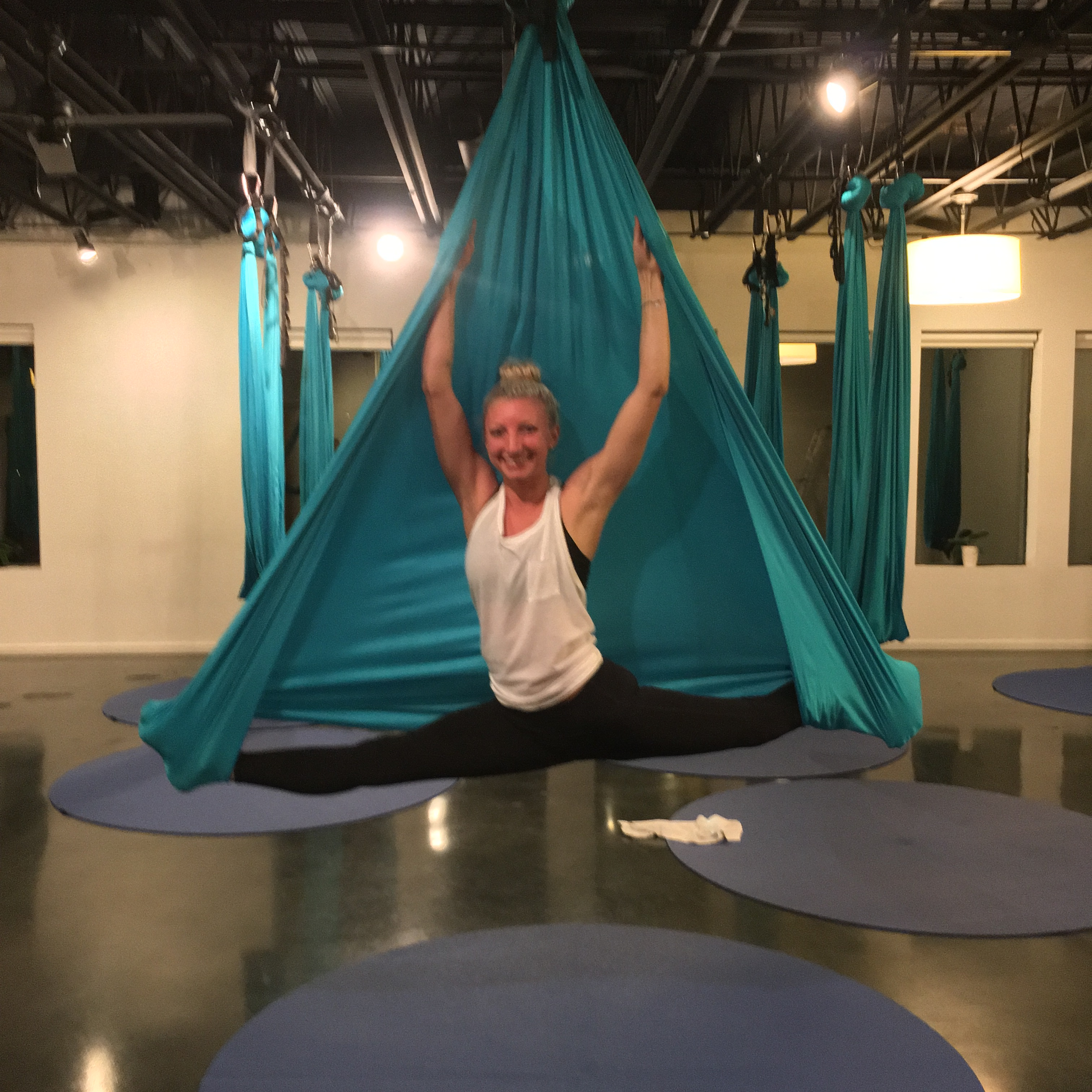 Yoga on high ariel yoga