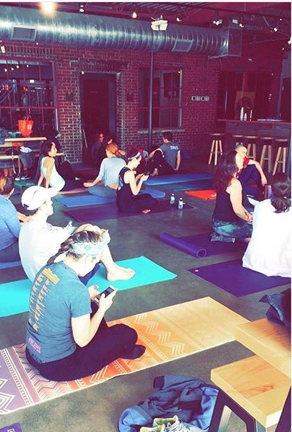 St Jude yoga fundraiser Land Grant