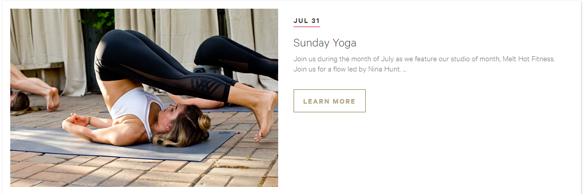 July Free Class: Lululemon Polaris
