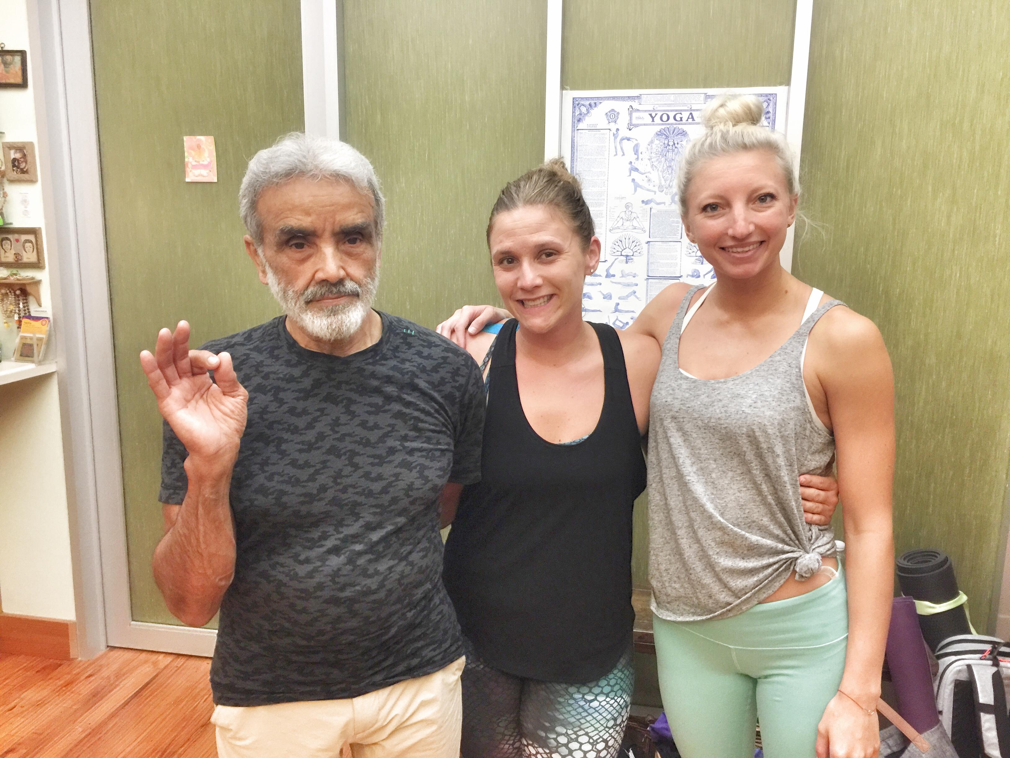 dharma mittra nina elise yoga